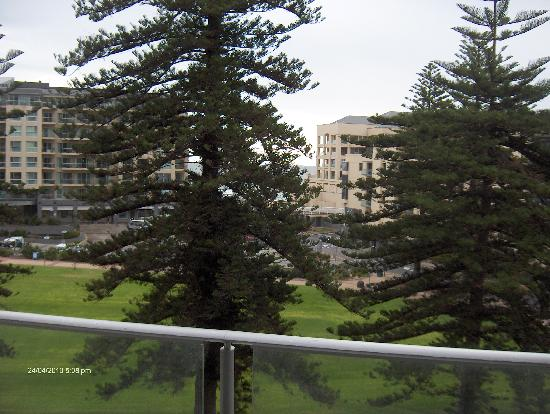Glenelg, Australia: View from balcony