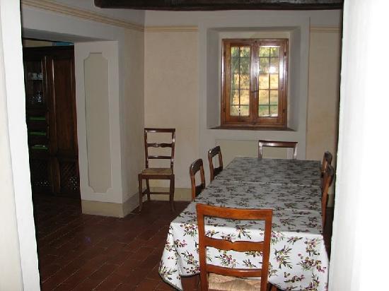 Borgo Stoppi: Dining room