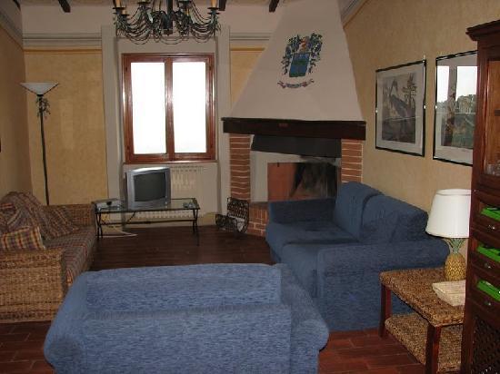 Borgo Stoppi: Living room