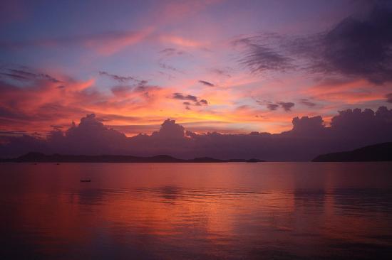 Serenity Resort & Residences Phuket: Sunrise from our Villa roof top.