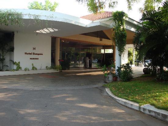 Hotel Sangam: Hotel (extérieur)