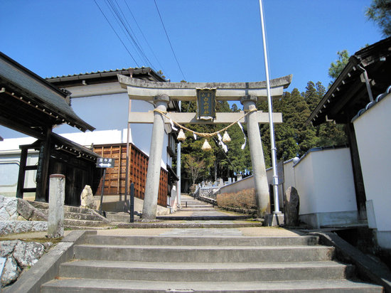 Takayama, Japón: Gate at the start of the walk.