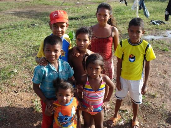 Bilwi, Nikaragua: My sister's neighbors kids. Cute.