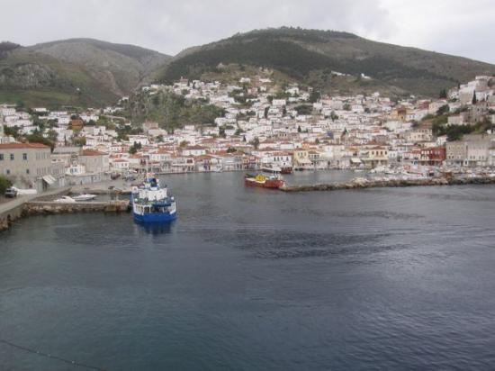 Hydra, Yunani: the port