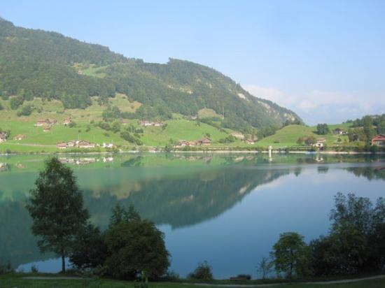 Lucern to Grindelwald - train ride and views from