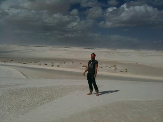 White Sands, Νέο Μεξικό: ahh, the white gypsum sands of New Mexico.