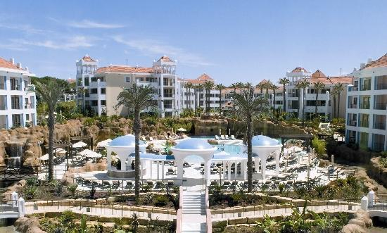 Hilton Vilamoura As Cascatas Golf Resort & Spa: Panoramic View Resort