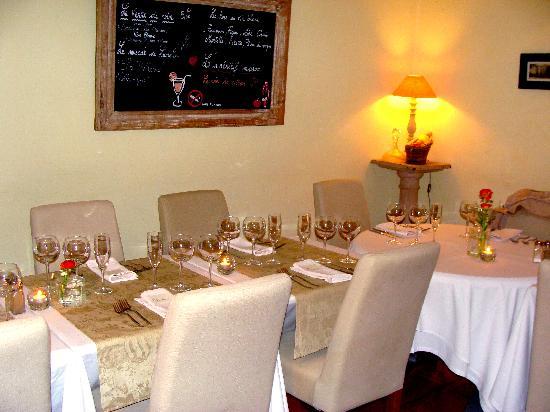 L'Escoundudo : La salle intérieure lors du banquet