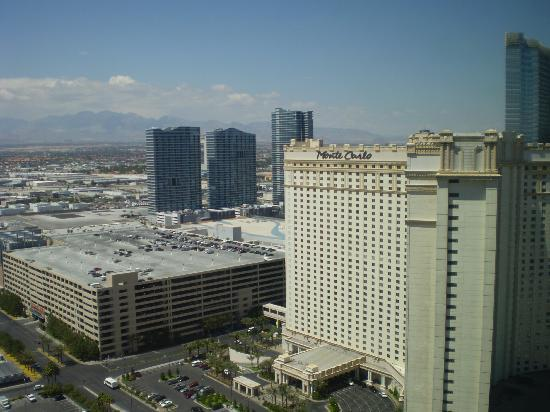 View of Vegas from my hotel room