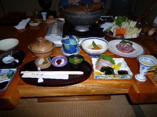 Minamiaso-mura, Japón: 夕食例