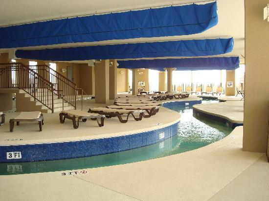 North Beach Plantation: Enclosed lazy river