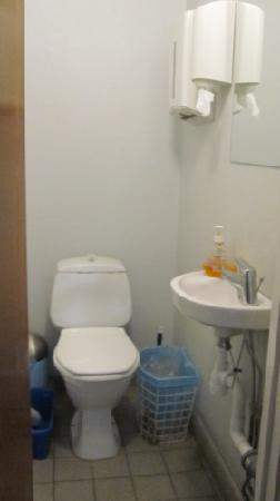Railway Hostel : 1 of 3 toilets.