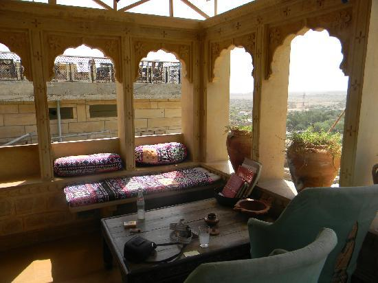 Hotel Monsoon Palace : Wonderful Terrace