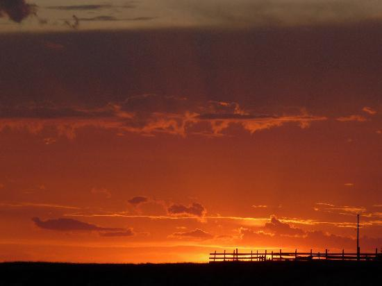 Interior, SD: another amazing sunset from the terrace...