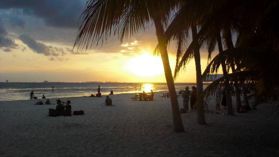Atardecer en Isla Mujeres, Mexico
