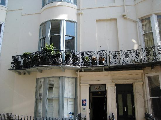 Kemp Townhouse: It's tucked away on a side street in Kemp Town