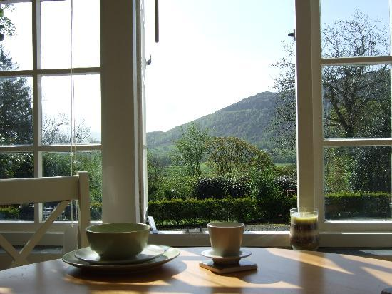 Bwlch y Fedwen Bed & Breakfast: Have breakfast overlooking Moel Y Gest, in the tranquility of our sun room