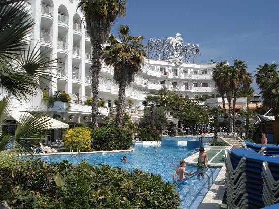 Hotel Marina Sand: une belle vue de l'extérieur (coté piscine)