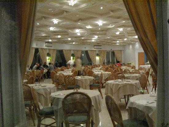 Grand Hotel Aminta: The dining room