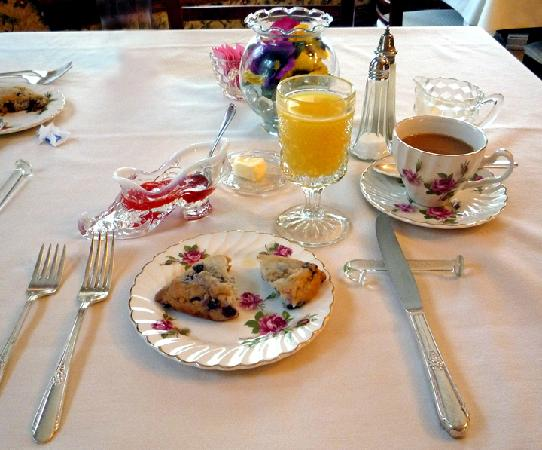 Westby House Inn: Breakfast first course
