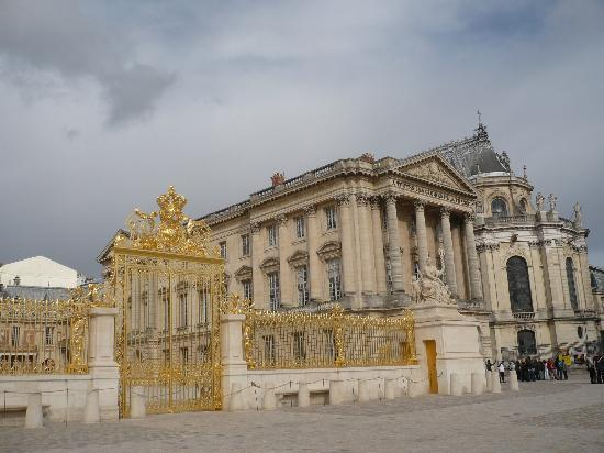 Paris Puerta Palacio De Versalles Fotograf 237 A De Par 237 S