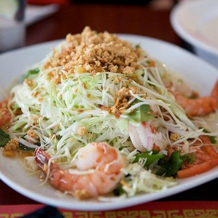 Vietnam Grill: goi tom