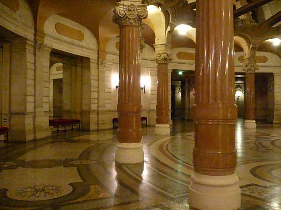Paris interior Palacio Garnier-Opera