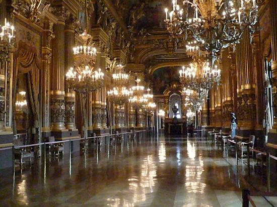 Paris Palacio Garnier-Opera
