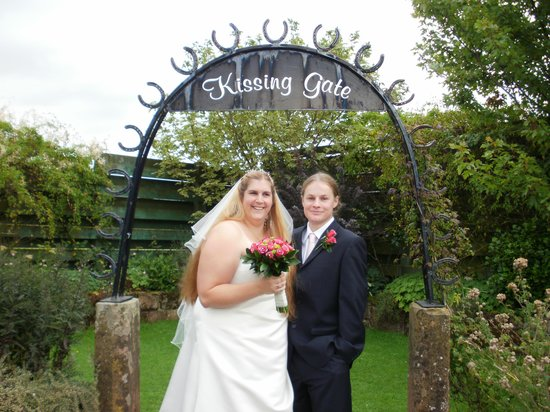 The Mill Forge: kissing gate