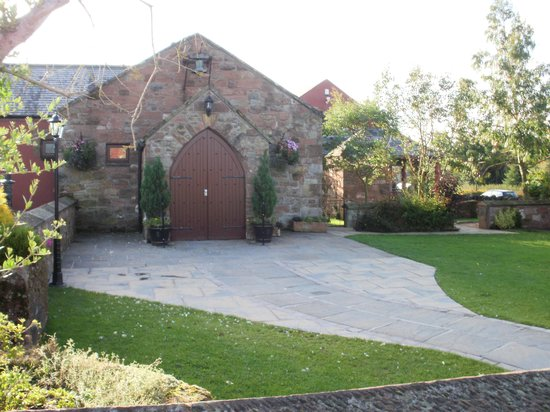 The Mill Forge: the forge where weddings are held