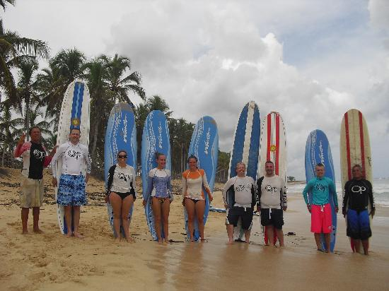 Macao Surf Camp: voila....surfers!