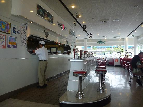 Inside Ruby S Diner