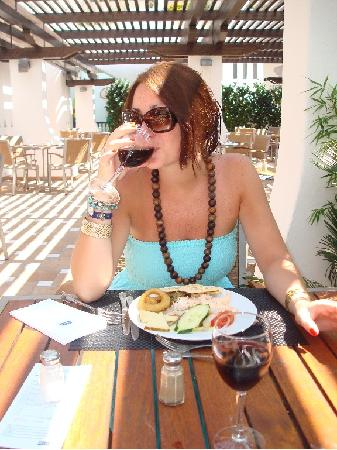 H10 Estepona Palace: Terraza del Restaurante
