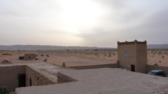 Kasbah Ouzina: Vista desde la azotea