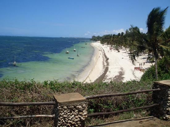 Vasco da Gama : View on the way to the beach