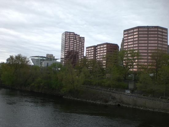 Another view of the Riverfront with Hartford's skyline