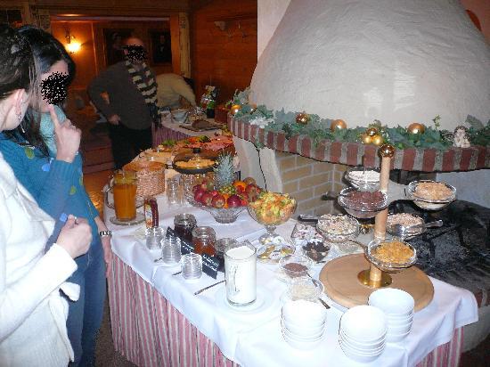 Landgasthof & Hotel Forstwirt : particolare del buffet della prima colazione