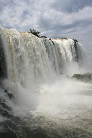 Mirante Hotel: Iguazu-Wasserfälle (brasil. Seite)