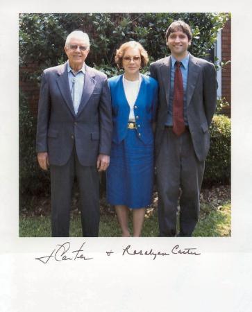 Maranatha Baptist Church: President and Mrs. Carter (Plains, GA, August 2003)