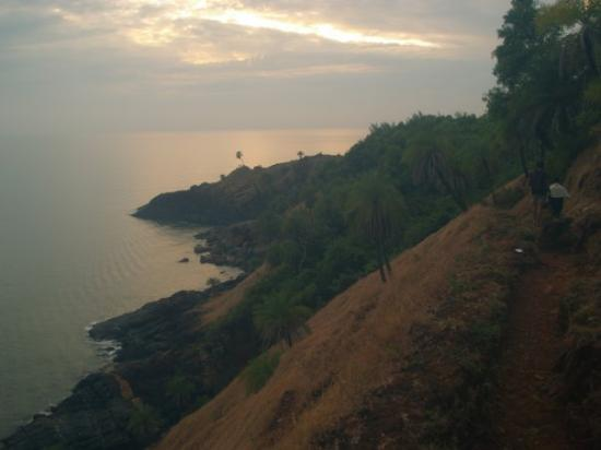 Gokarna, Hindistan: North of Half Moon Beach