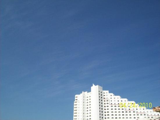 Playa La Audiencia: Stairway to the sky!