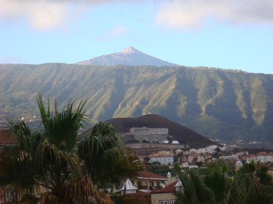 Hotel Puerto Palace: vistas del teide desde el hotel