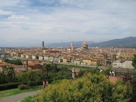 Firenze, Italia: Florence Rooftops from Boboli Gardens