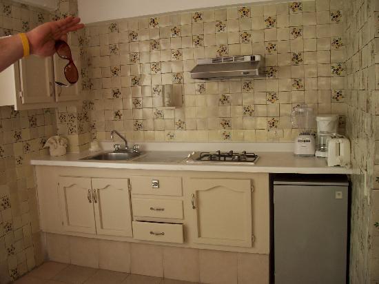 Las Flores Beach Resort: 909 kitchenette