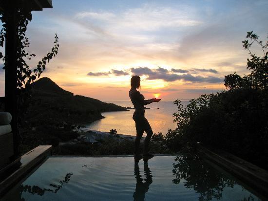 Saint Mary's, Antigua: Nice sunset