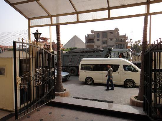 Порт-Саид, Египет: Hotel was close to Pyramids