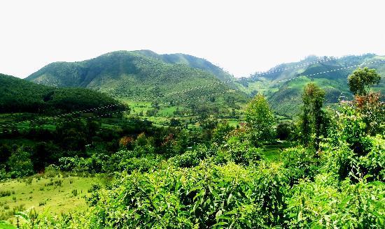 Sodo, Ethiopia: Damot Mountain