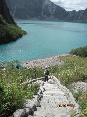 Mount Pinatubo: crater lake