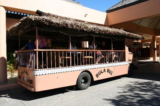Sheraton Denarau Villas: Bula bus - free shuttle between Sheraton and Westin