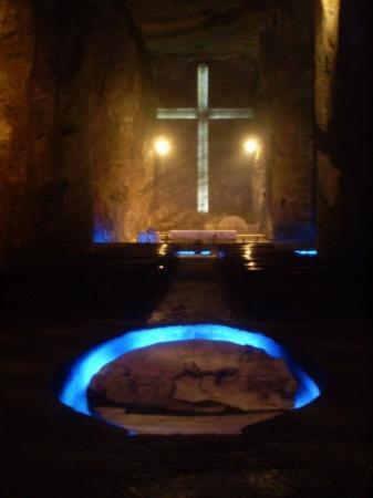 Bilde fra Zipaquiras saltkatedral